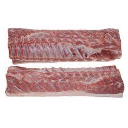 Замороженная свиная корейка на кости, без позвонков